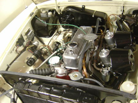 MGB ROADSTER 1967 Engine