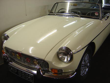MGB ROADSTER 1967 Front