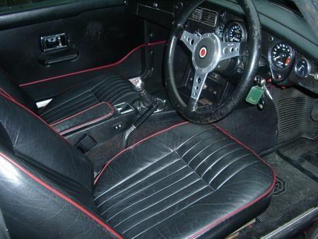 MGB GT V8.FACTORY CAR Interior