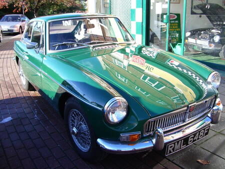 MGB GT,RARE 1967 Front