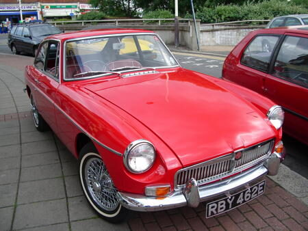 MGB GT 1967 Front
