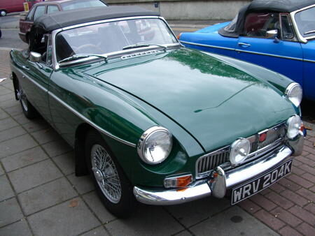 MGB - 1970 Front