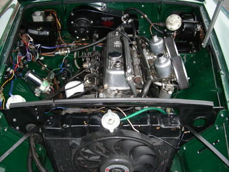 MGB - 1970 Engine