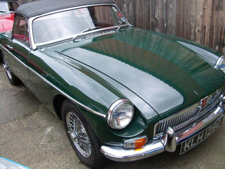 MGB ROADSTER 1966 Front