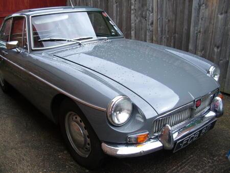 MGB GT 1966 MK1 Rare Grampian grey