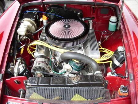 MGB V8 ROADSTER Engine