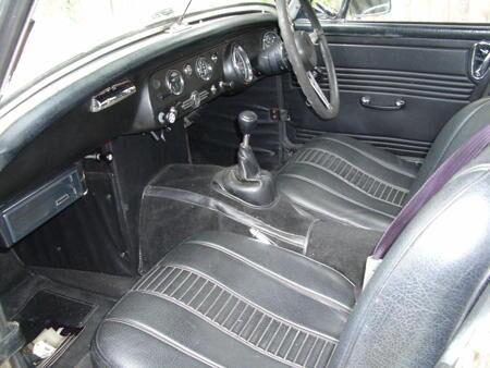 MIDGET 1971 Interior