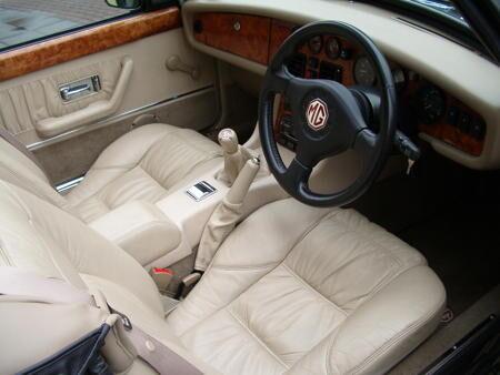 MGR V8 - 1994 Interior
