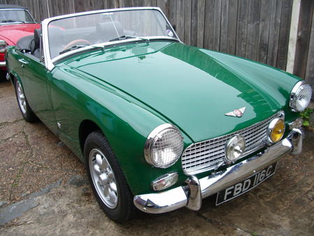 Austin Healey Sprite,1965,HERITAGE SHELL Front