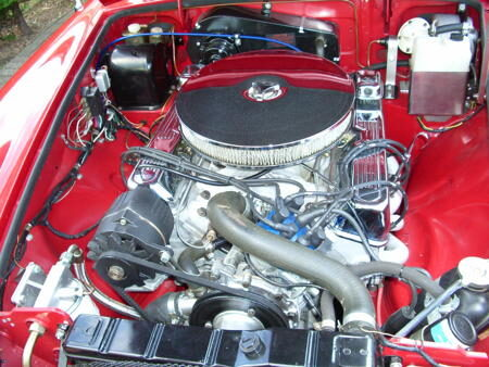 HERITAGE SHELL 3.5l V8 ROADSTER Engine