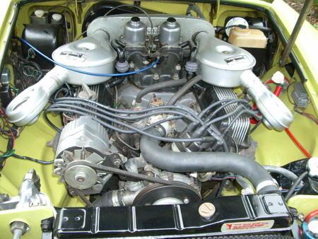 MGB GT V8 1974 Engine