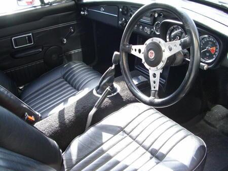 MGB GT 1970 Interior