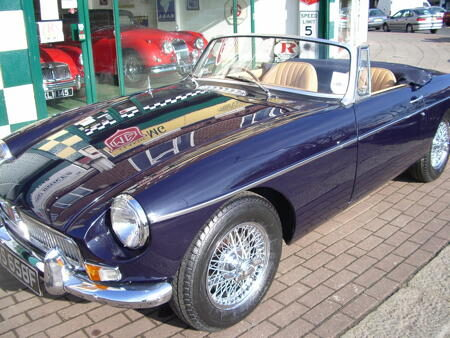 MGB 1968 Front