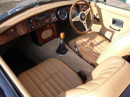 MGB 1968 Interior
