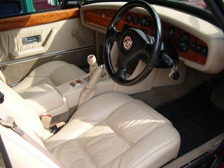 MGR V8 -1993 Interior