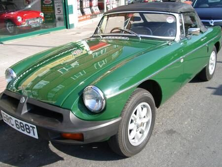 MGB Roadster 1978 front