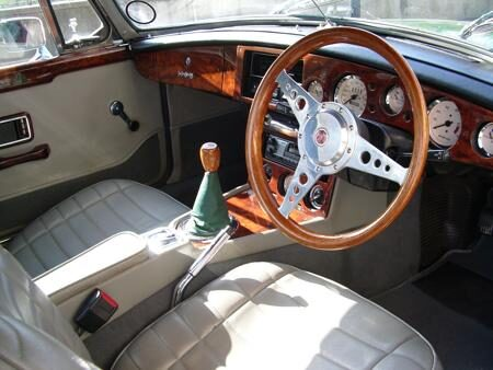MGB Roadster 1978 interior