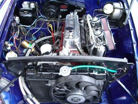 MGB - 1971 - Metallic blue Interior