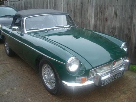 MGB 1970 Front