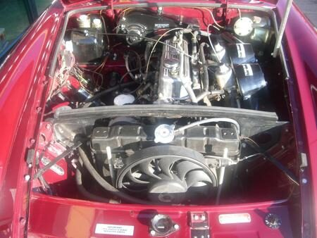 MGB HERITAGE SHELL 1973 Engine