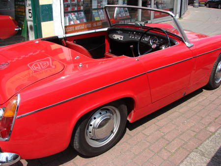 MIDGET - Rare MK1 - 1962 Back