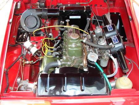 MIDGET - Rare MK1 - 1962 Engine