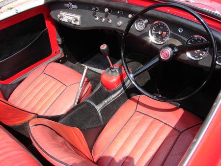 MIDGET - Rare MK1 - 1962 Interior