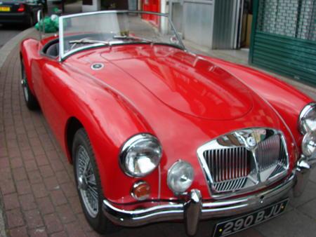 MGA 1600 MK2, 1962 Front