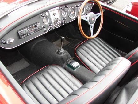 MGA 1600 MK2, 1962 Interior