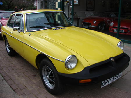 MGB GT 1979 Front