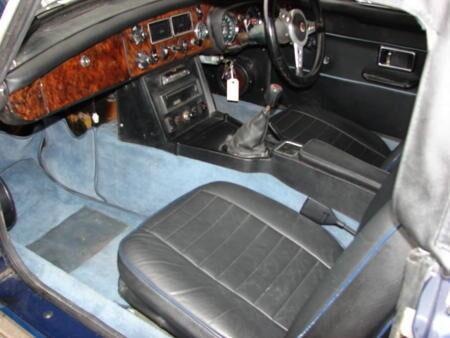 MG 1974 Interior