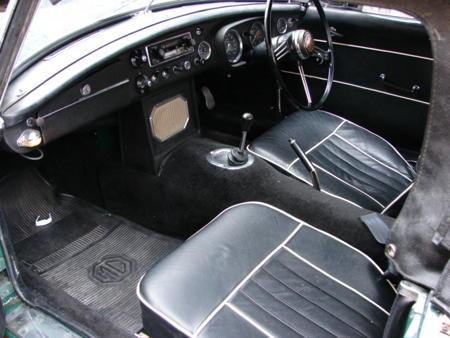 MGB 1965 MK1 Interior