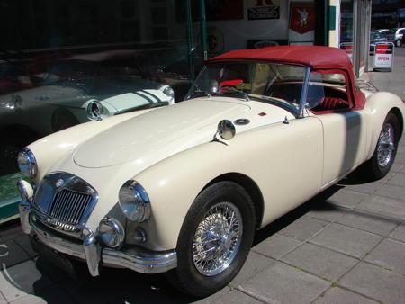 MGA 1500 - 1956 Front