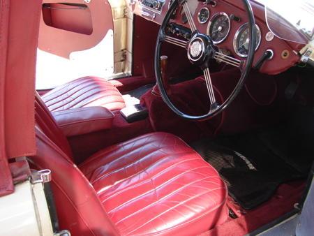 MGA 1500 - 1956 Interior