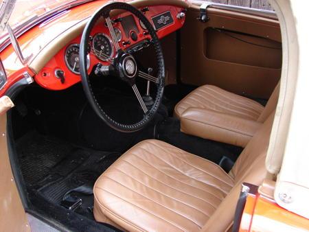 MGA Roadster - 1957 Interior