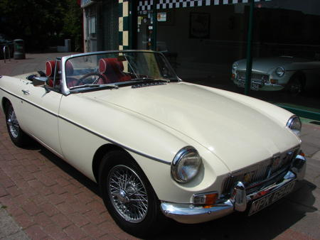 MGB 1966 Front