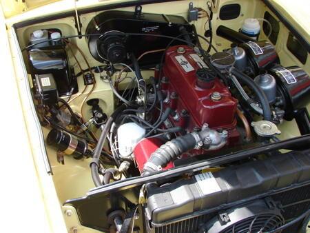 MGB GT MK1 1967 Engine