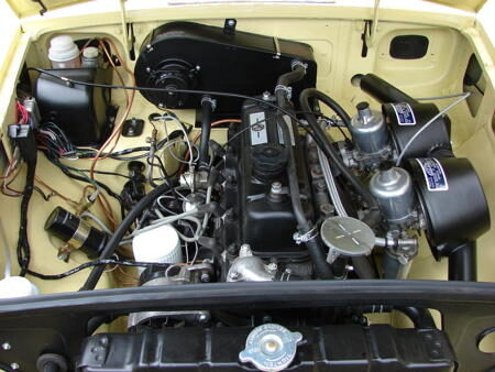 MGB 1970 Engine