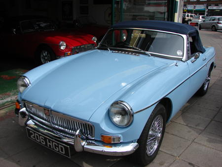 MGB 1963 Front