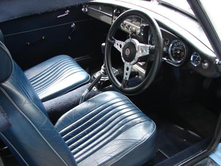 MGB 1963 interior
