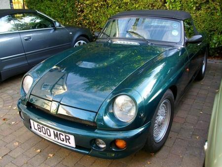 MGR V8 UK Spec. 1993 Front