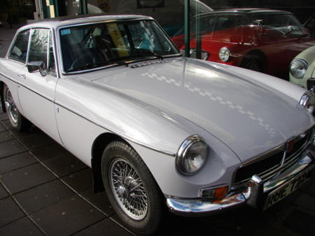 MGB GT 1974 Front