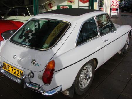 MGB GT 1974 Back