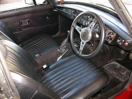 MGB GT 1971 Interior