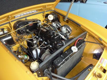 MGB 1972 Engine