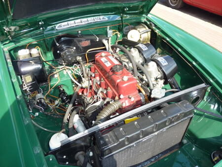 MGB GT 1967 Engine