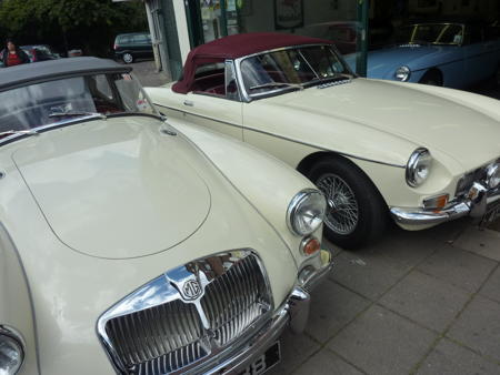 MGA 1962 AND MGB 1962 Front