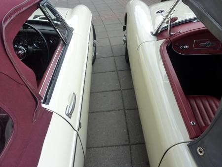 MGA 1962 AND MGB 1962 Sides