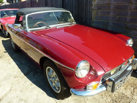 MGB roadster 1973 Front