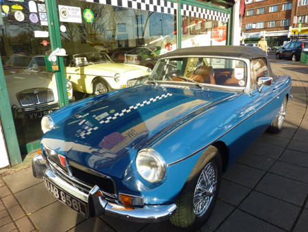 MGB 1972 Front